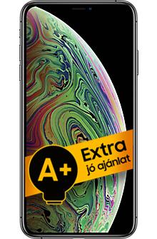 Apple iPhone XS Max 64GB (Ezüst) 4GB RAM - 1 év gyártói jótállás - A+ ajánlat