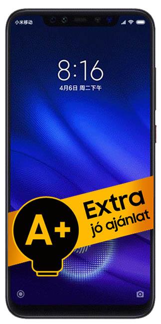 Xiaomi Mi 8 Pro DualSIM 128GB (Szürke) 8GB RAM - 1 év FirstPhone jótállás - A+ ajánlat