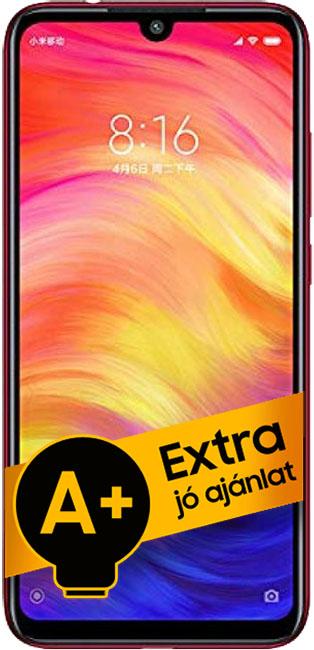 Xiaomi Redmi Note 7 DualSIM 64GB (Piros) 4GB RAM - 1 év FirstPhone garancia - A+ ajánlat